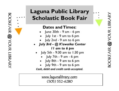 Book Fair Flyer June 2014