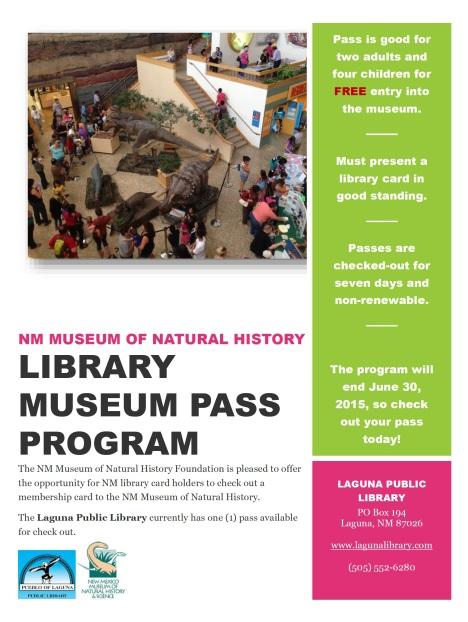 NMMNH Pass