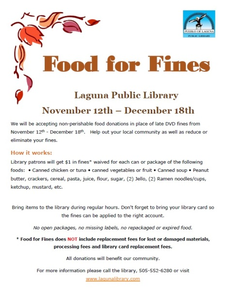 Fines for food 2014