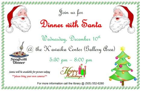 Dinner with Santa