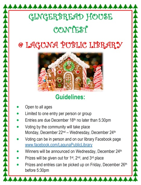 GIngerbread house contest 2014