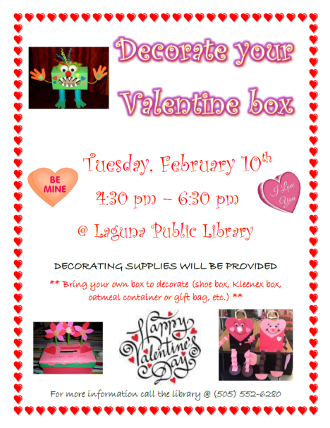 2015 Valentine Box Event
