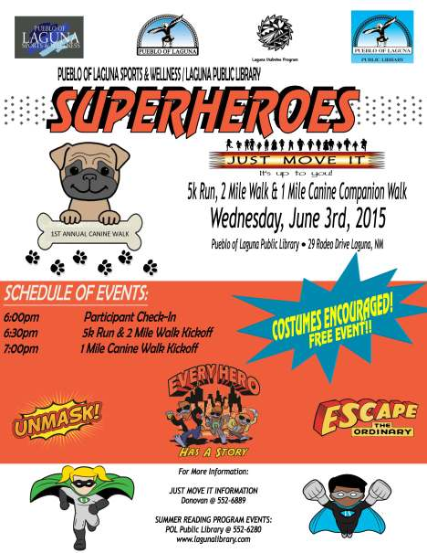 Super Hero 5k (Library)