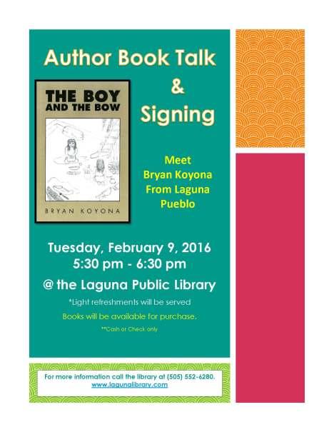 Author Book Talk Bryan Koyona