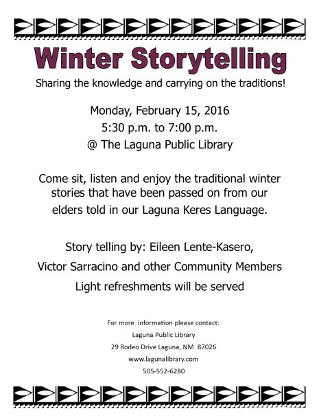 Winter Storytelling