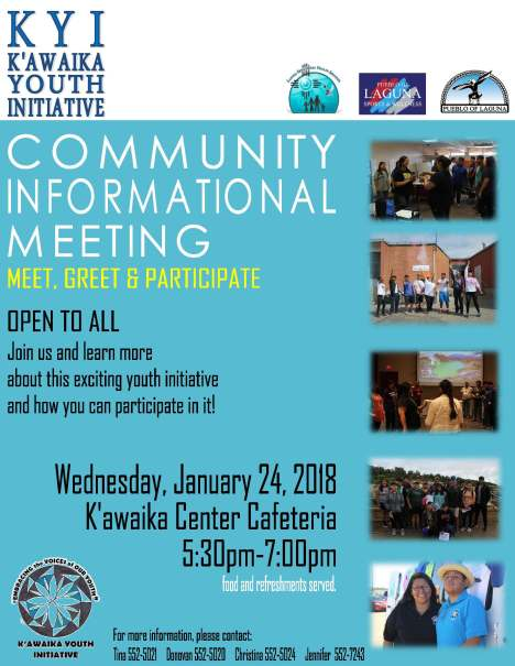 Informational Meeting 2018