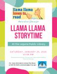 llama llama storytime