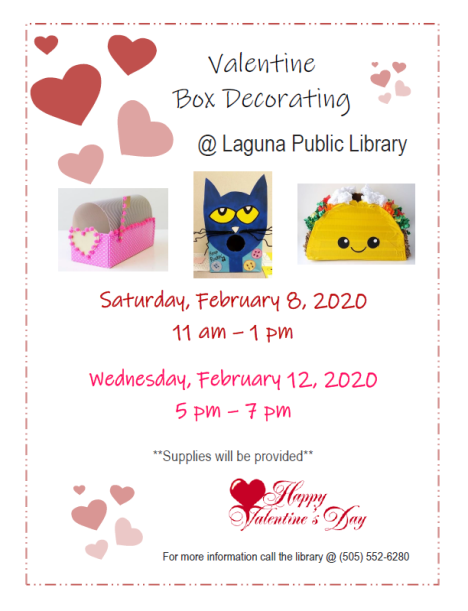 Valentine Box Flyer 2020