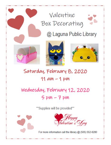 Valentine Box Flyer 2020